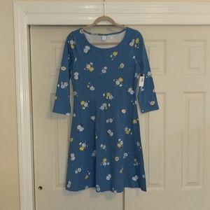 NWT Floral Stretch Dress